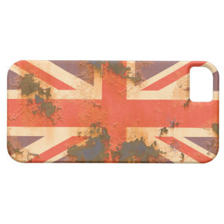 Vintage Rusted United Kingdom Flag Case For The iPhone 5