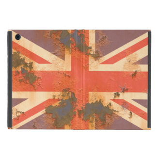 Vintage Rusted United Kingdom Flag Cover For iPad Mini