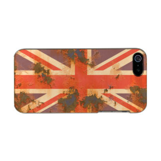 Vintage Rusted United Kingdom Flag Incipio Feather® Shine iPhone 5 Case