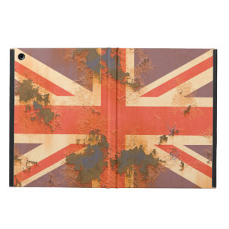 Vintage Rusted United Kingdom Flag iPad Air Cover