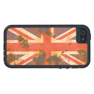 Vintage Rusted United Kingdom Flag iPhone 5 Case