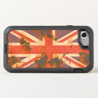 Vintage Rusted United Kingdom Flag OtterBox Defender iPhone 7 Case