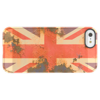 Vintage Rusted United Kingdom Flag Permafrost® iPhone SE/5/5s Case