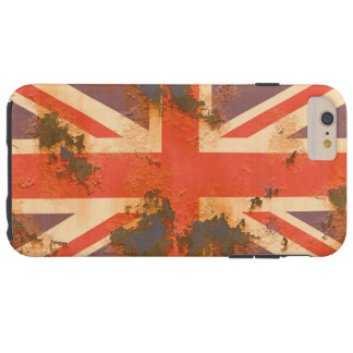Vintage Rusted United Kingdom Flag Tough iPhone 6 Plus Case
