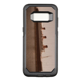 Vintage Rustic Sepia Aged Queen Mary Otter Box Ott OtterBox Commuter Samsung Galaxy S8 Case