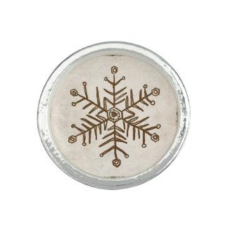 Vintage Rustic Snowflake