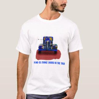 Vintage Rusty Blue Truck,Humor, funny. T-Shirt