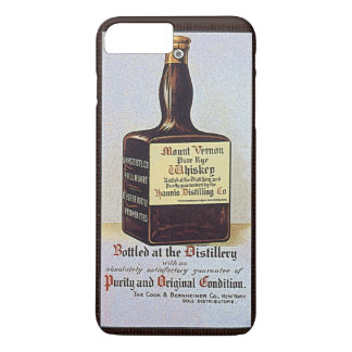 Vintage Rye Whiskey Advertisement Retro Alcohol iPhone 7 Plus Case