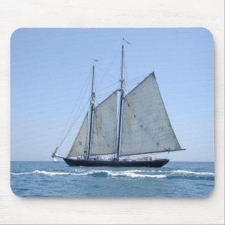 Vintage Sail boat Mousepad