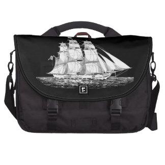 Vintage Sail Ship Bags For Laptop