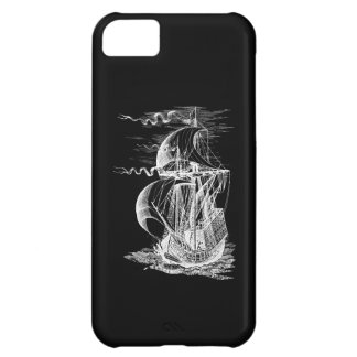 Vintage Sailing Ship Cover For iPhone 5C