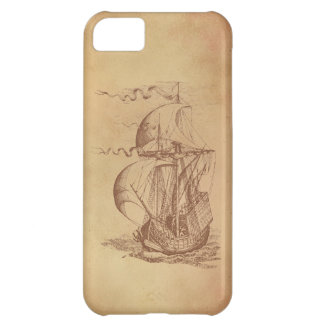 Vintage Sailing Ship iPhone 5C Covers