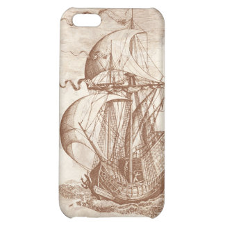 Vintage Sailing Ship iPhone 5C Cover