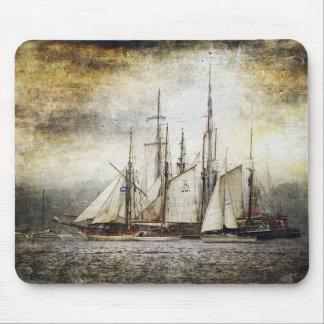 Vintage Sailing Ship Mouse Pad
