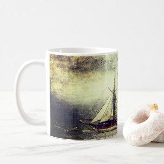 Vintage Sailing Ship Mug