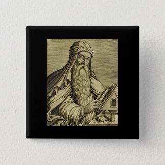Vintage Saint Basil Hand-drawn Image 15 Cm Square Badge