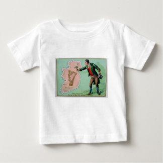 Vintage Saint Patrick's day erin's isle poster Baby T-Shirt