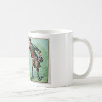 Vintage Saint Patrick's day erin's isle poster Coffee Mug