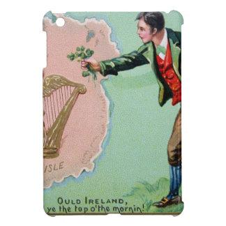 Vintage Saint Patrick's day erin's isle poster iPad Mini Covers