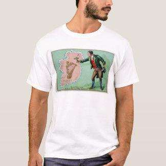 Vintage Saint Patrick's day erin's isle poster T-Shirt