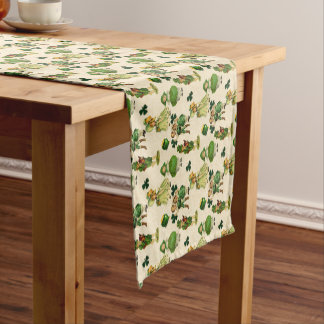 Vintage Saint Patrick's Day Holiday table runner