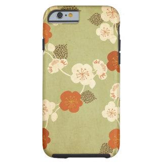 Vintage sakura Case Tough iPhone 6 Case