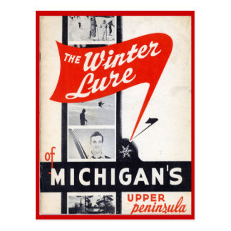 Vintage Sales, Michigans, Upper Peninsula Postcard