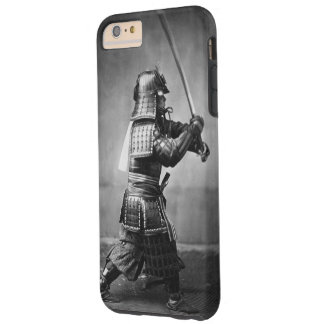 Vintage Samurai with Sword Tough iPhone 6 Plus Case