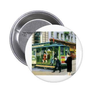 Vintage San Francisco Cable Car Buttons
