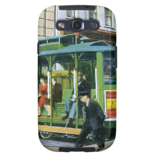 Vintage San Francisco Cable Car Galaxy S3 Covers