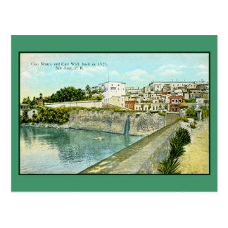 Vintage San Juan, Puerto Rico Postcard