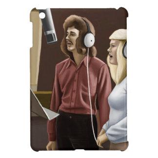 Vintage sångare iPad mini cover