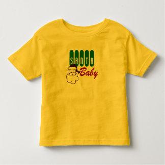 Vintage Santa Baby Toddler T-Shirt