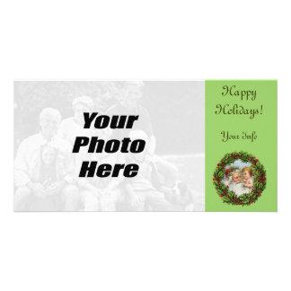 Vintage Santa Christmas Photo Cards