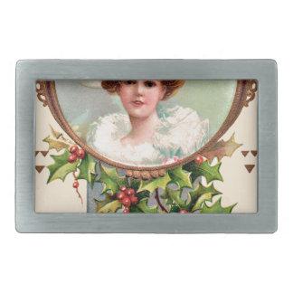 vintage-santa-christmas-post-cards-0019 belt buckle