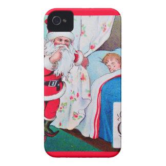 vintage-santa-christmas-post-cards-0026 iPhone 4 Case-Mate case