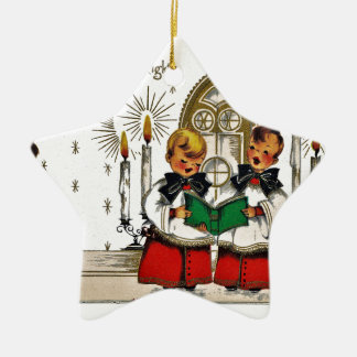 vintage-santa-christmas-post-cards-0029 ceramic ornament
