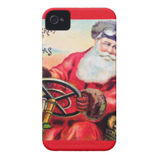 vintage-santa-christmas-post-cards-0125 iPhone 4 cover