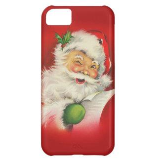 Vintage Santa Claus Christmas iPhone 5C Case