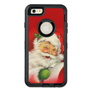 Vintage Santa Claus Christmas OtterBox iPhone 6/6s Plus Case