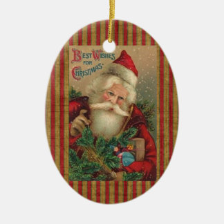 Vintage Santa Claus Christmas Tree Ornament