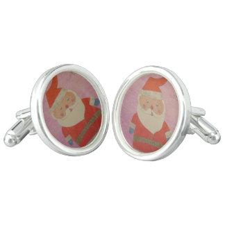 Vintage Santa Claus Cufflinks