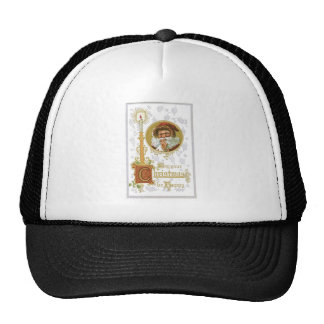 Vintage Santa Claus Hat