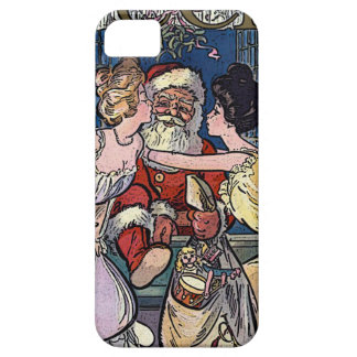 Vintage Santa Claus iPhone 5 Covers
