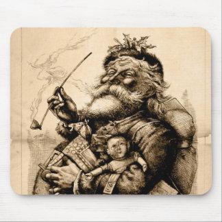 Vintage Santa Claus Mouse Pad