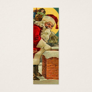 Vintage Santa Claus Name Tags