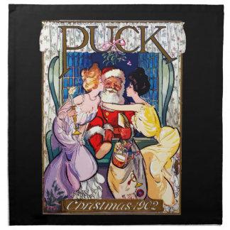 Vintage Santa Claus Napkin