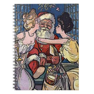 Vintage Santa Claus Notebooks