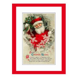 Vintage Santa Claus Postcard