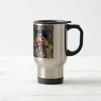 Vintage Santa Claus Travel Mug